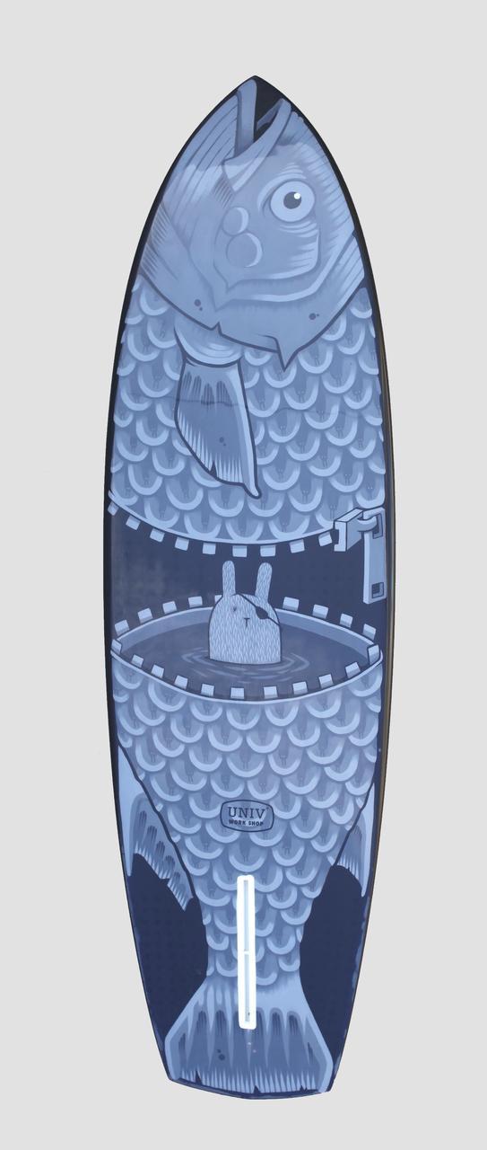 Jeremy Fish Surfboard