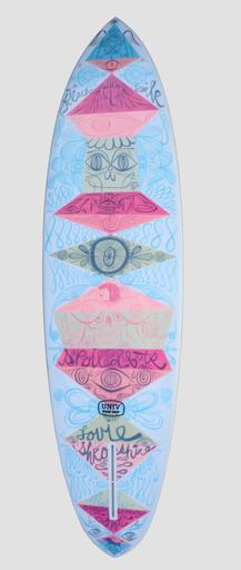 Tim Biskup Surfboard