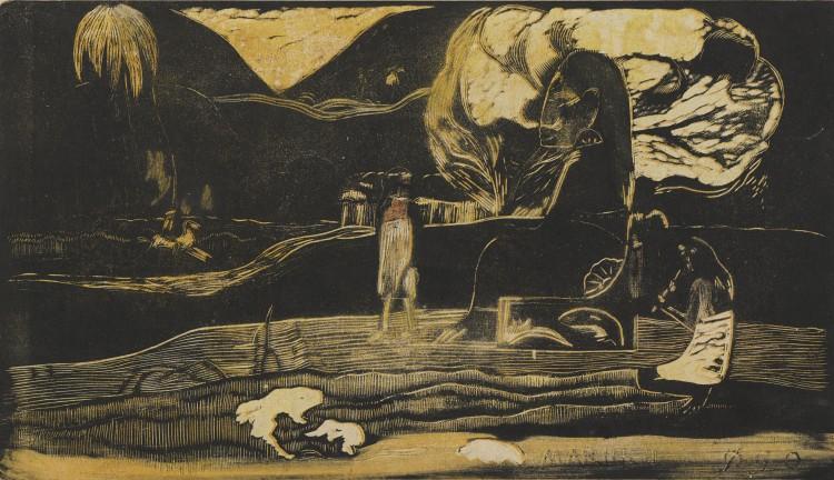 Paul Gauguin, Maruru (Offerings of Gratitude) from the suite Noa Noa (Fragrant Scent)