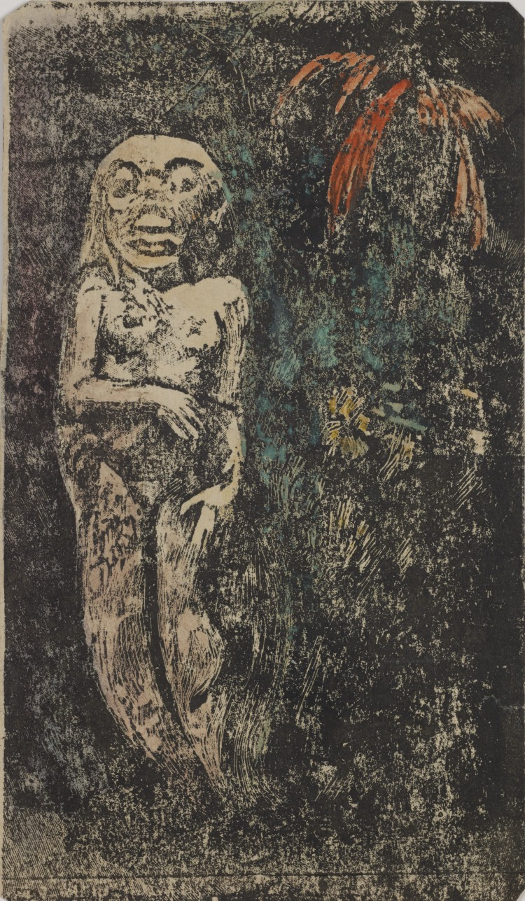Paul Gauguin. Oviri (Savage)