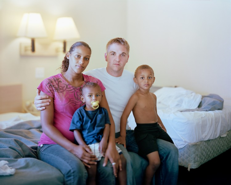 Sonia, Zach, Raekwon, and Antonio, 2011, Tampa, FL from Touching Strangers (Aperture, May 2014) © Richard Renaldi