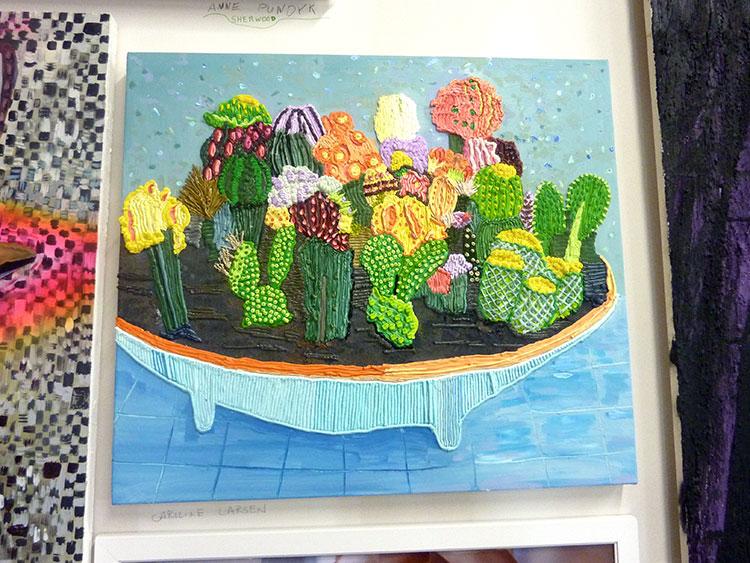 Painting by Carolie Larson