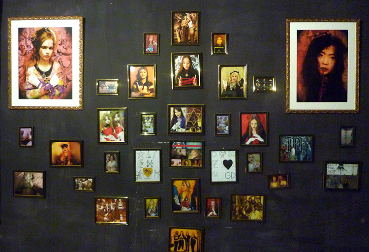 """Secret Signals: Teen Angel Magic Spirit Photography"" Installation Shot (Photo by the author)"
