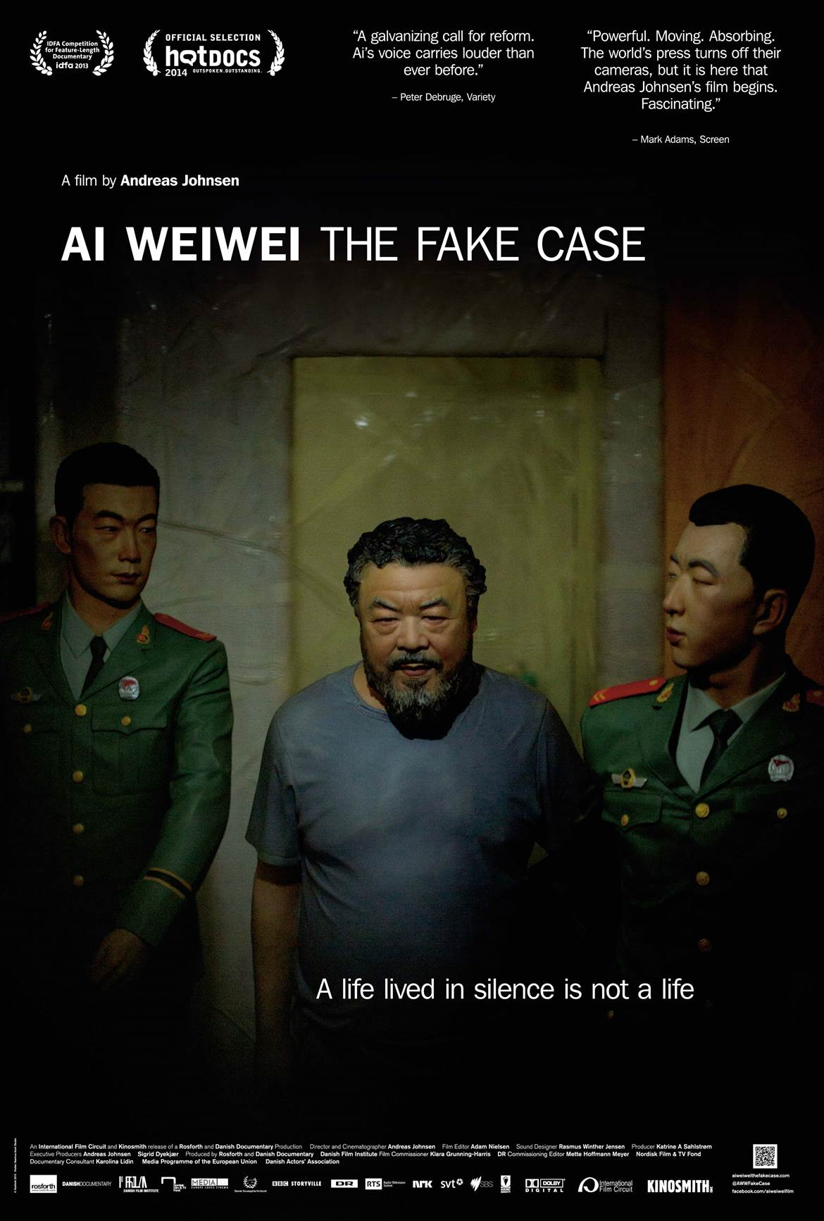 'Ai WeiWei: The Fake Case'poster