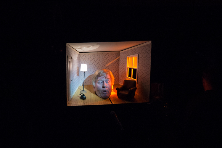 "David Prum performing ""Little Head Room"": Dada Bomb"
