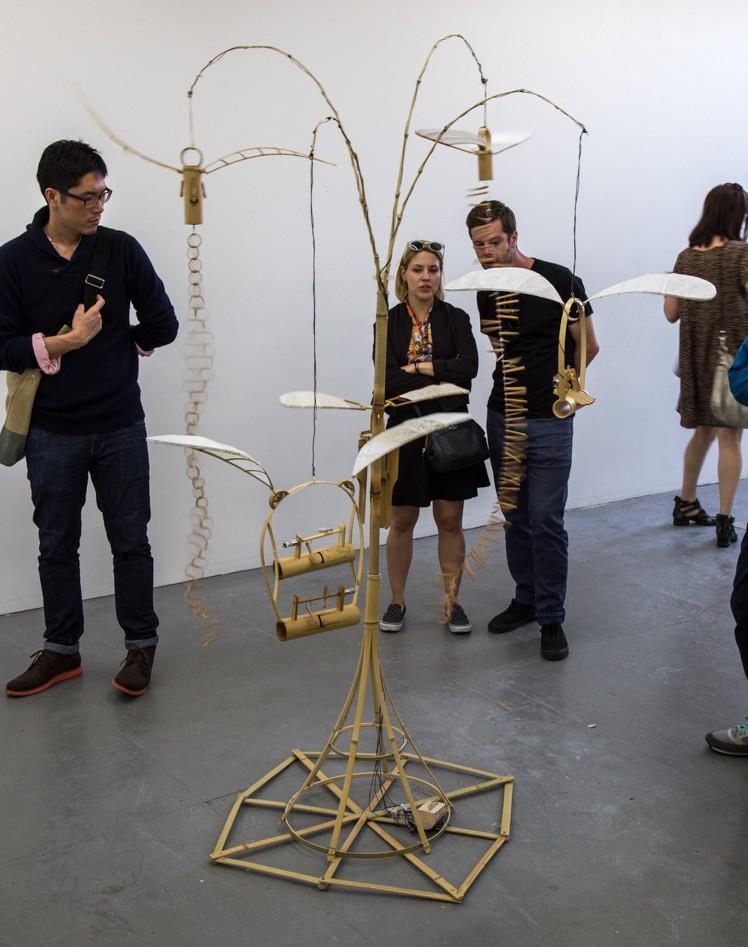 Sound sculpture by Akinori Matsumoto