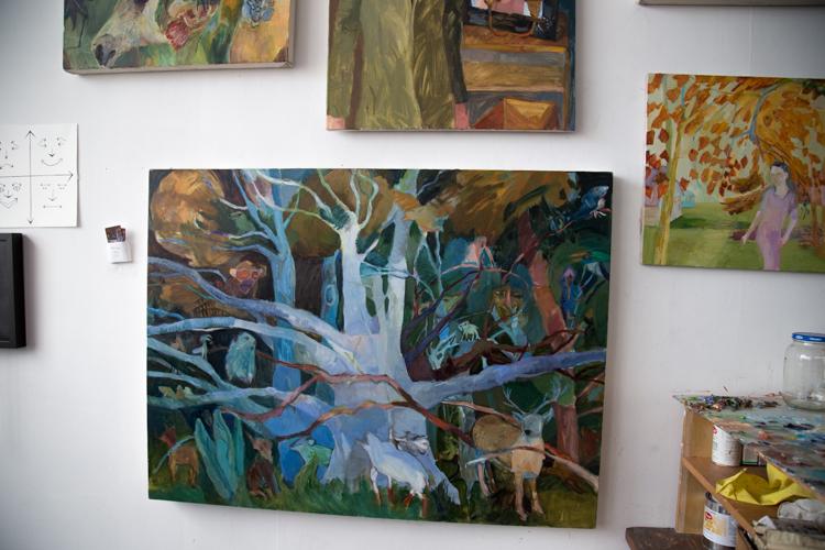 Paintings by Mollie Hosmer-Dillard