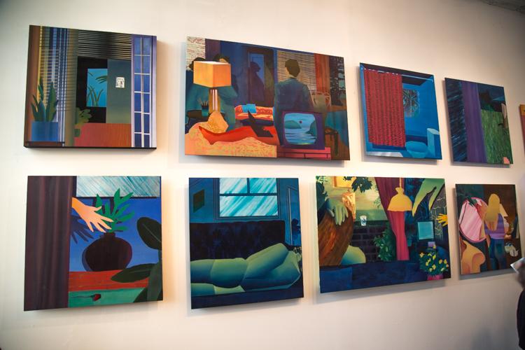 Paintings by Jonathan Chapline