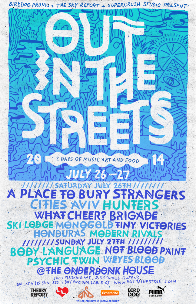 out in the streets poster